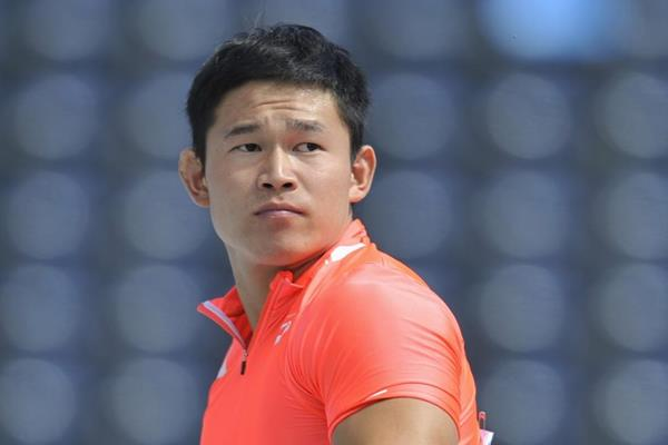 Japanese javelin thower Junya Sado at the IAAF World U20 Championships Bydgoszcz 2016 (Getty Images)
