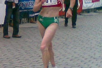 Ryta Turava defending her Krakow title (Grzegorz Lipinski)