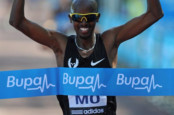 Mo Farah collects his fourth London 10,000 win (Getty Images)