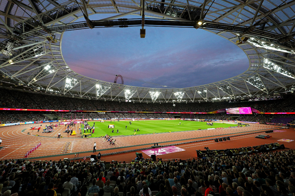 General view of the IAAF World Championships London 2017 (Getty Images)