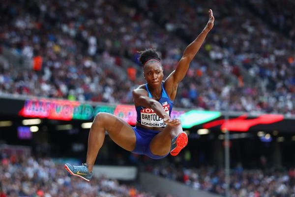 Tianna Bartoletta at the IAAF World Championships London 2017 (Getty Images)