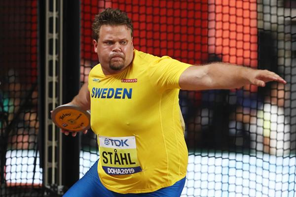 Daniel Stahl in the discus at the IAAF World Athletics Championships Doha 2019 (Getty Images)