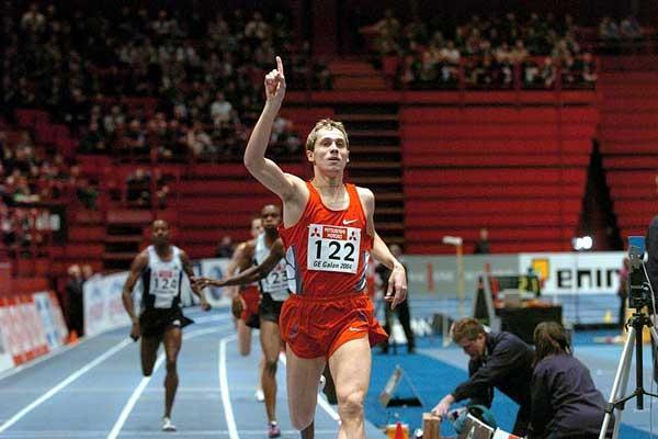 Yuriy Borzakovskiy (RUS) wins in Stockholm (Hasse Sjögren)