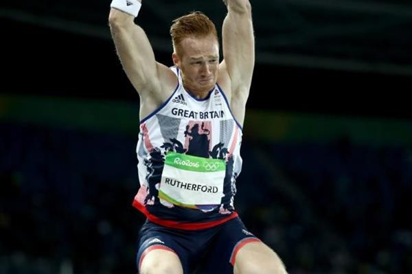 Greg Rutherford in the long jump at the Rio 2016 Olympic Games (Getty Images)