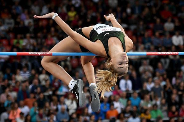 Ukrainian high jumper Yuliya Levchenko (AFP / Getty Images)