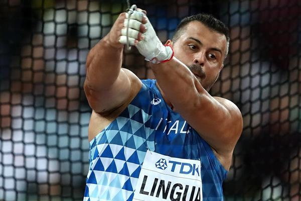 Italian hammer thrower Marco Lingua (Getty Images)