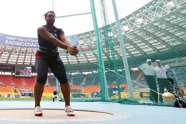 US thrower Jeneva McCall (Getty Images)