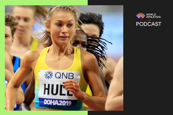 Australian distance runner Jessica Hull (Getty Images)