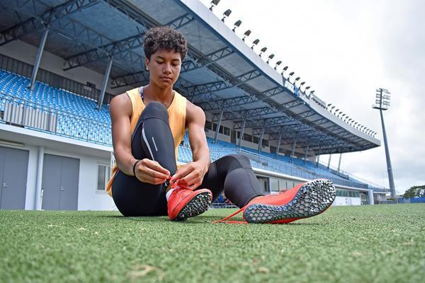 Sprinter Heleina Young from Fiji (OAA)