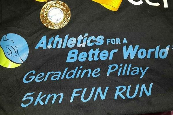 Geraldine Pillay 5km Fun Run T-shirt (Organisers)
