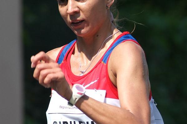 Tatyana Sibileva in the Sesto San Giovanni heat (Lorenzo Sampaolo)