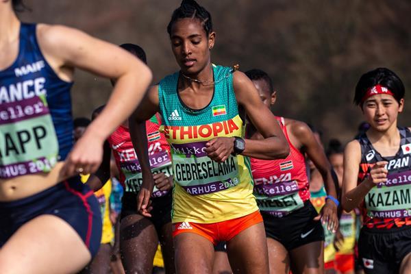 Ethiopian distance runner Tsigie Gebreselama (Dan Vernon)