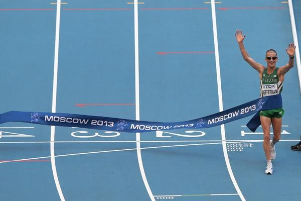 Robert Heffernan in the mens 50km Race Walk at the IAAF World Athletics Championships Moscow 2013 (Getty Images)