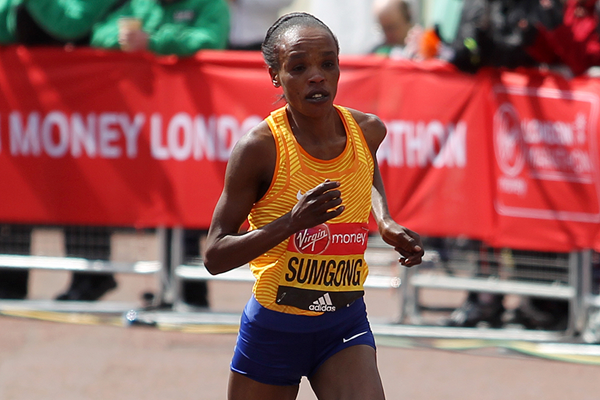 Kenyan marathon runner Jemima Sumgong (Getty Images)