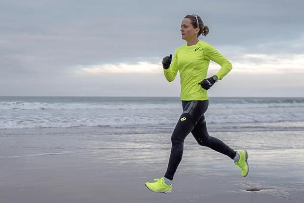 Distance runner and Asics ambassador Mara Yamauchi (Mark Clinton Johnson)