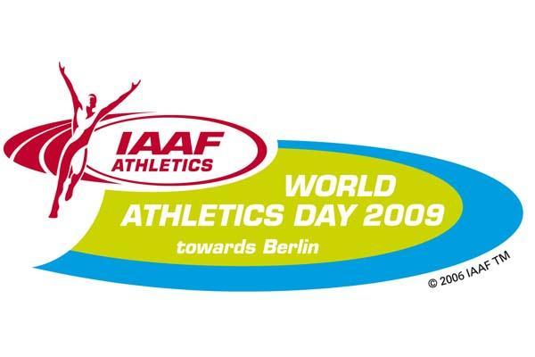 2009 IAAF World Athletics Day logo (IAAF.org)
