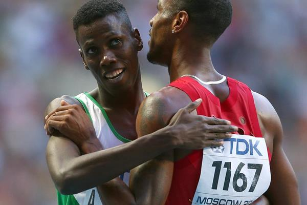 Saudi 800m runner Abdulaziz Ladan Mohammed (Getty Images)