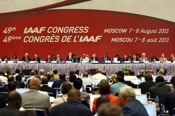 General view of the 49th IAAF Congress in Moscow (Getty Images)