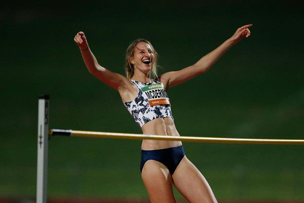 Nicola McDermott at the 2018 Sydney Track Classic (Getty Images)