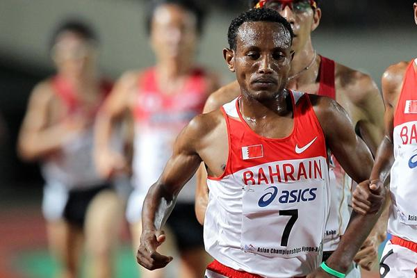 Distance runner Alemu Bekele from Bahrain (Getty Images)