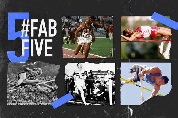 Fab five: landmark moments in athletics (AFP / Getty Images / Bongarts)