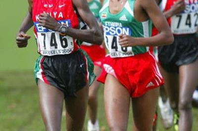 Edith Masai, the only individual gold medallist for Kenya in Brussels (Getty Images)