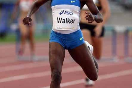 Melaine Walker wins at the 2009 Sydney Track Classic (Getty Images)