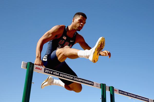 US 400m hurdler Johnny Dutch (Getty Images)