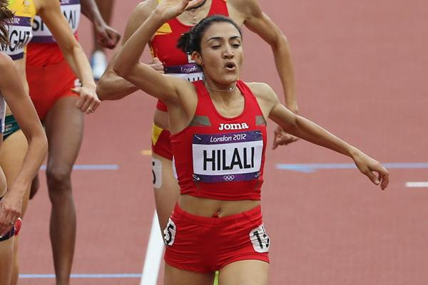 Moroccan middle-distance runner Siham Hilali (Getty Images)
