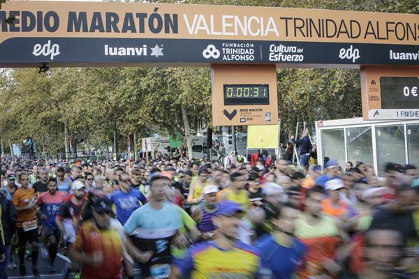 Runners in action in Valencia (Ajuntament de València)