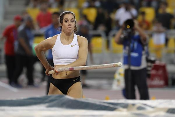 Greek pole vaulter Katerina Stefanidi (AFP / Getty Images)