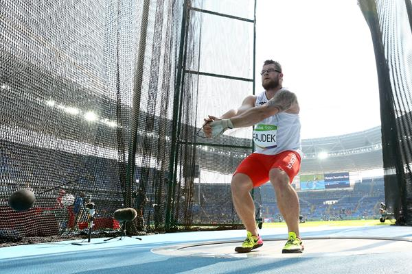 Pawel Fajdek at the Rio 2016 Olympic Games (Getty Images / AFP)