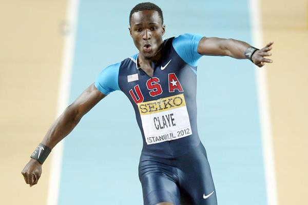 Will Claye of the United States going for gold in the men's Triple Jump final - WIC Istanbul (Getty Images)