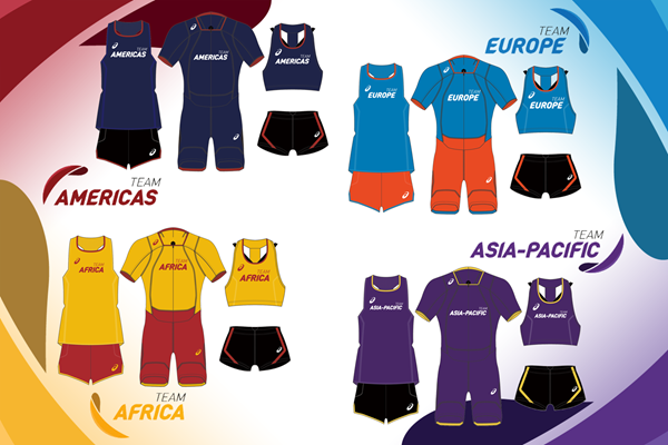 Team apparel for the IAAF Continental Cup Ostrava 2018 (IAAF)