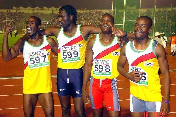 Zimbabwe 4x400m - Brazzaville (Ouma)