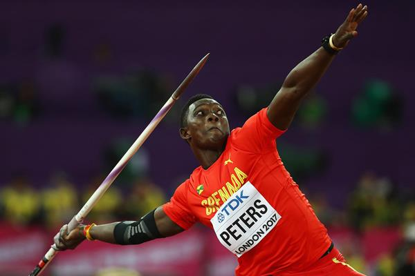 Anderson Peters in the javelin at the IAAF World Championships London 2017 (Getty Images)