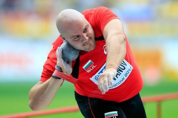 Georgi Ivanov at the 2013 IAAF World Championships (Getty Images)