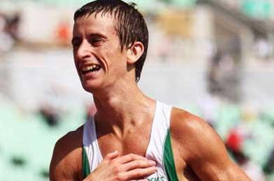 Robert Heffernan at the 2007 IAAF World Championships (Getty Images)