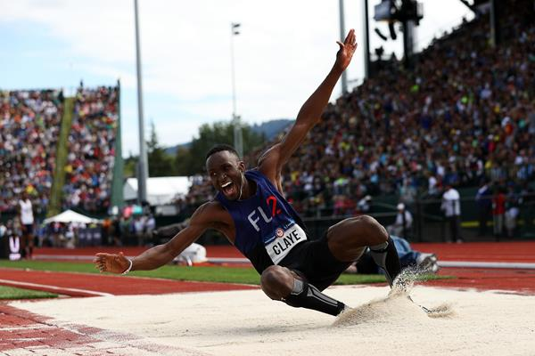 Will Claye wins the triple jump at the US Olympic Trials (Getty Images)