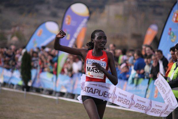 Comfortable victory for Linet Masai in Atapuerca (Alfambra Fundación ANOC)