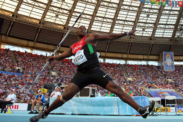 Kenyan javelin thrower Julius Yego (Getty Images)