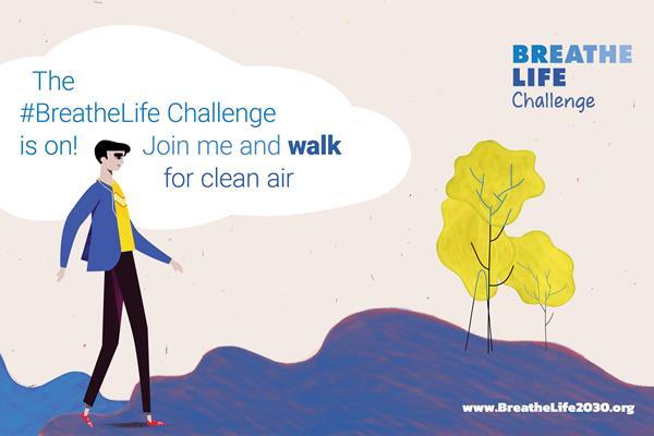 BreatheLife Challenge (UNEP)