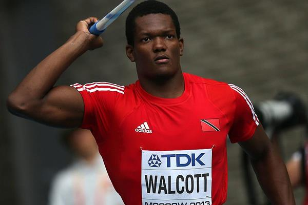 Keshorn Walcott in the javelin at the IAAF World Championships (AFP / Getty Images)