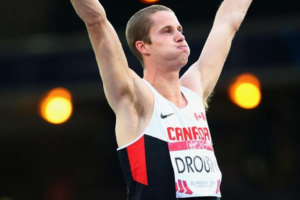 Derek Drouin, winner of the high jump at the Commonwealth Games (Getty Images)