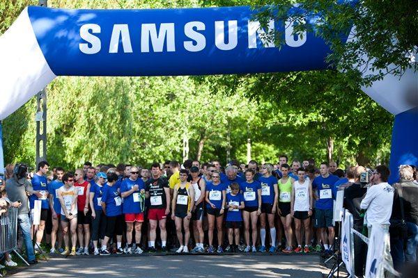 Start of the Samsung Irena Run (Organisers)