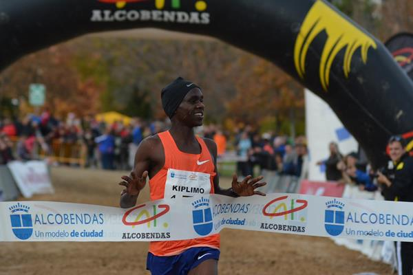 Another victory for Jacob Kiplimo, this time in Alcobendas (Asociación ANOC)