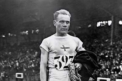 Paavo Nurmi - 1924 Olympics (Getty Images)