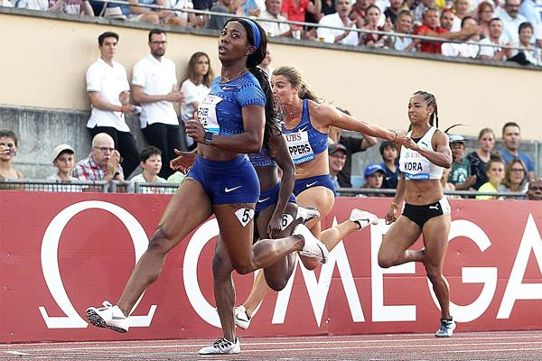 Impressive 100m win for Shelly-Ann Fraser-Pryce at the IAAF Diamond League meeting in Lausanne (Giancarlo Colombo)