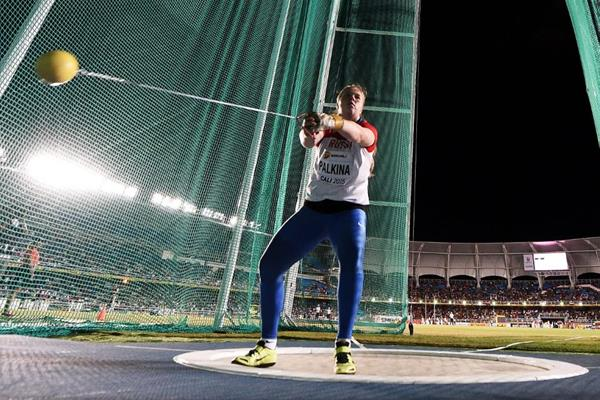 Sofiya Palkina at the IAAF World Youth Championships, Cali 2015  (Getty Images)