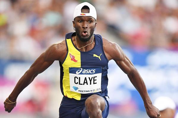 Will Claye, winner of the triple jump at the IAAF Diamond League meeting in Paris (Gladys Chai von der Laage)